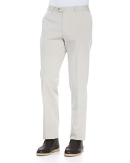 Loro Piana Four-Pocket Pants, Beige