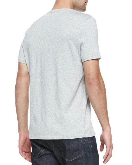 Equestrian Knight Jersey Tee, Pale Gray