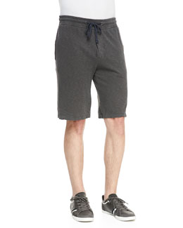 James Perse Jersey Drawstring Sweat Shorts