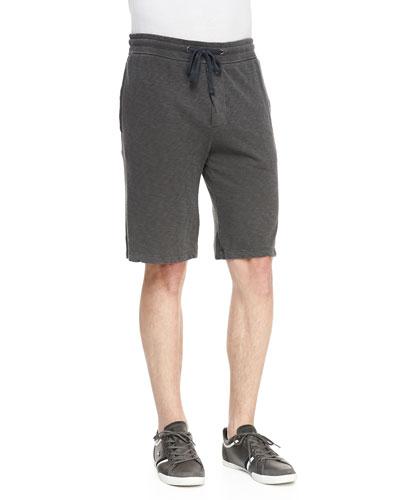 James Perse Jersey Drawstring Sweat Shorts