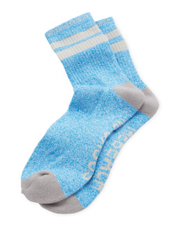 Arthur George by Robert Kardashian Socks on the Beach Men's Socks, Teal