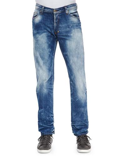 PRPS Barracuda Bleach Blue Denim Jeans