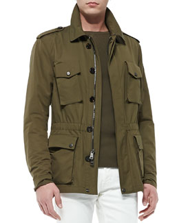 Ralph Lauren Black Label Safari Jacket, Thicket Moss