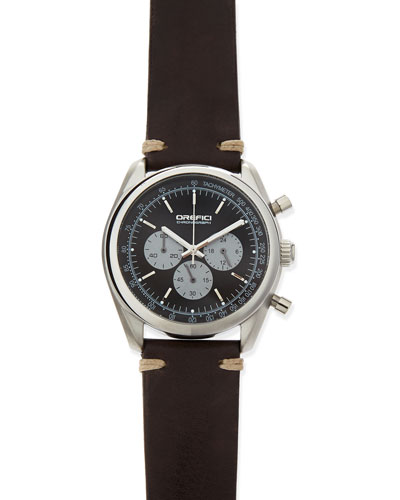 Orefici Watches Vintage 42mm Chronograph Watch