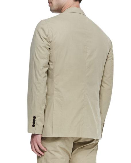 Two-Button Suit Jacket, Camel