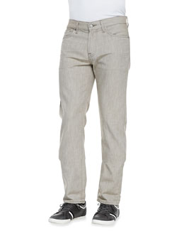 7 For All Mankind Slimmy Khaki Denim jeans