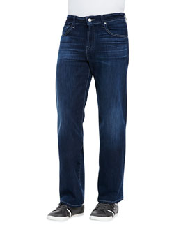 7 For All Mankind Austyn Lux Venice Jeans, Dark Blue