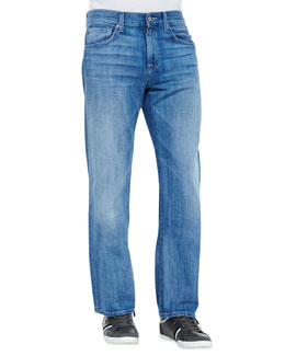 7 For All Mankind Carsen Ivory Coast Jeans