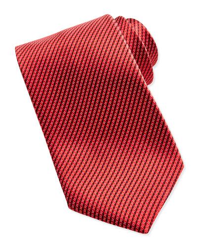 Ermenegildo Zegna Micro-Neat Tie, Red