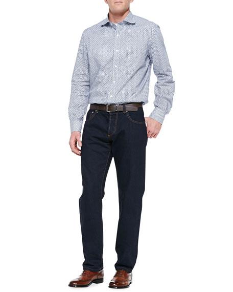 Classic Denim Jeans, Blue