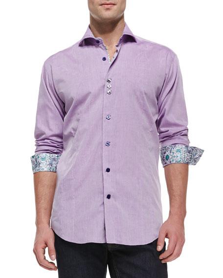 Kaz 89 Sport Shirt, Light Purple