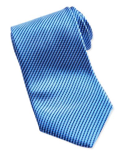 Ermenegildo Zegna Micro-Neat Tie, Blue