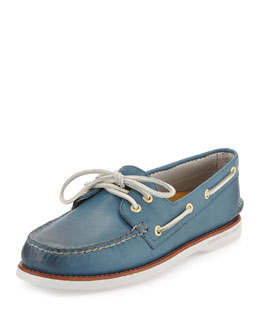 Sperry Top-Sider Gold Cup Authentic Original Boat Shoe, Blue