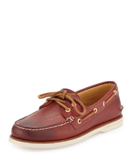 Sperry Top-Sider Gold Cup Authentic Original Boat Shoe, Red