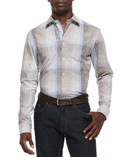 Michael Kors  Radford Check Shirt