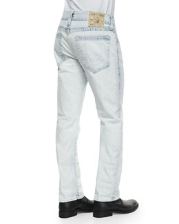 True Religion Geno White Keys Jeans