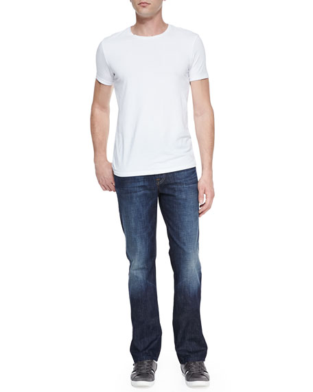 Standard Route 77 Dark Faded-Knee Jeans