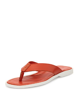 Ralph Lauren Black Label Darnford Leather Thong Sandal