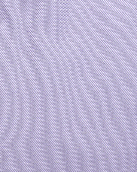 Textured Dress Shirt, Purple