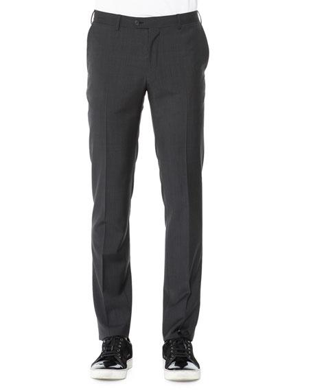 Attitude Check Trousers, Gray