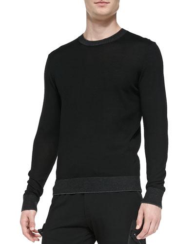 Michael Kors  Lightweight Wool Pullover Sweater