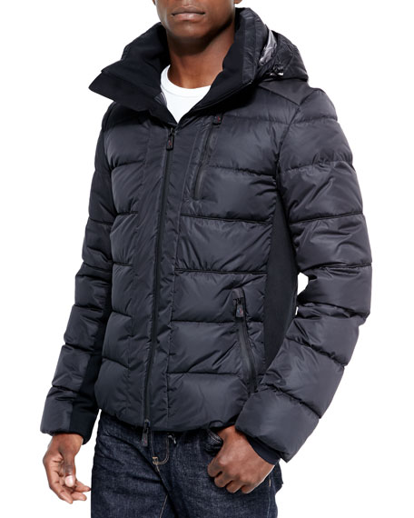Moncler hooded parka