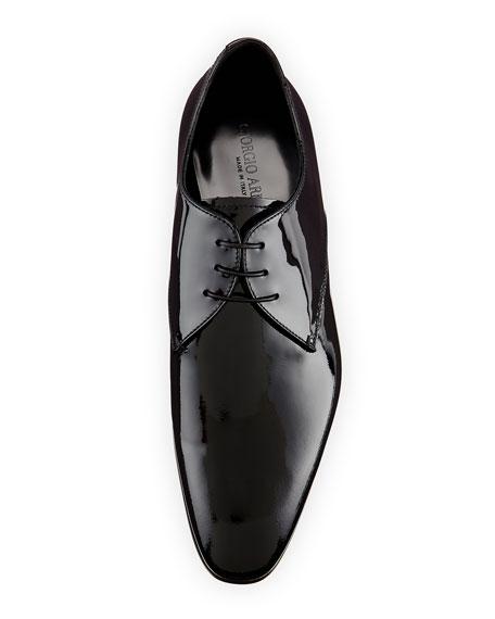 Patent Derby Shoe