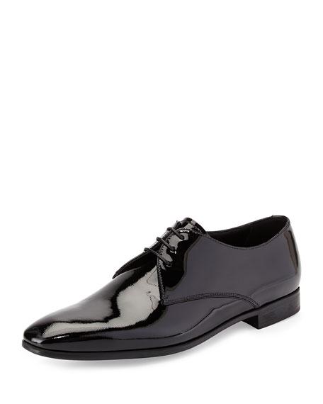 Giorgio Armani Patent Derby Shoe