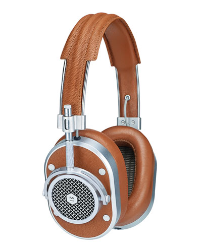 MH40 Noise-Isolating Over-Ear Headphones  Cognac/Silvertone