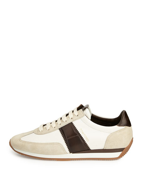 Men's Orford Colorblock Trainer Sneakers, Brown