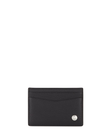 Boston Simple Card Case, Black