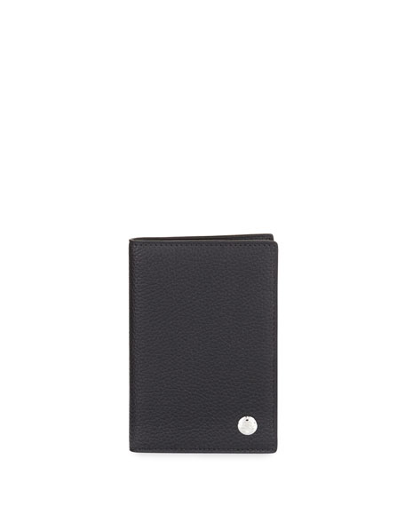 dunhill Boston Business Card Case, Black