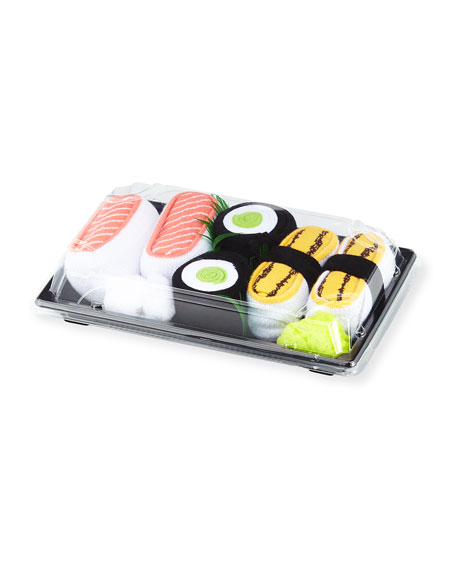 Sushi Socks Three-Pack Box Gift Set