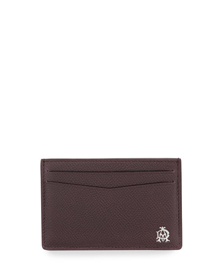 dunhill Cadogan Card Case, Oxblood