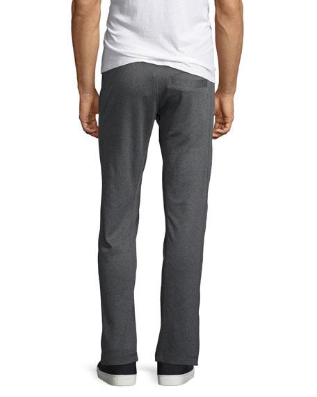Walker Heather Lounge Pants, Charcoal