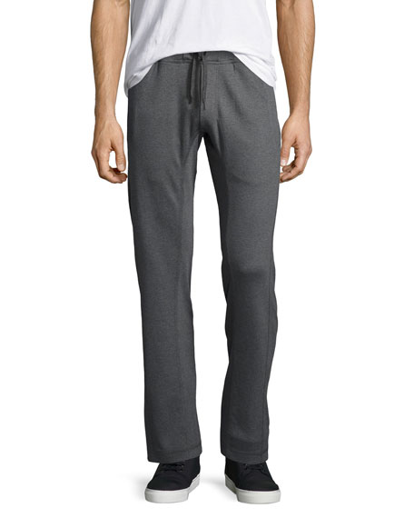Walker Heather Lounge Pants, Charcoal