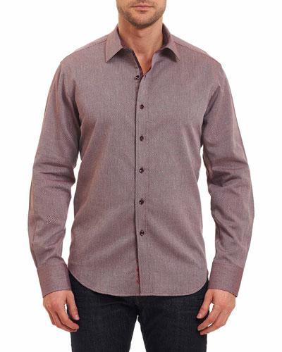Boden Textured Sport Shirt