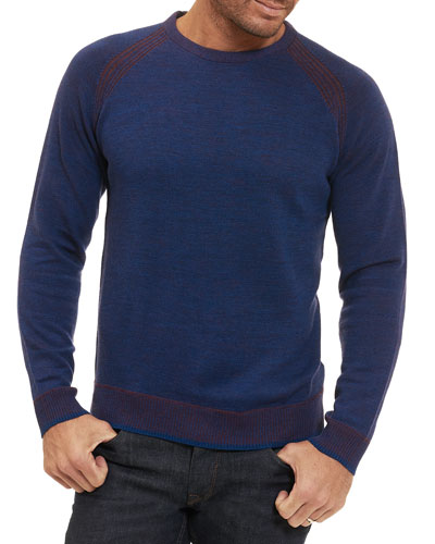Filberto Merino Wool Crewneck Sweater