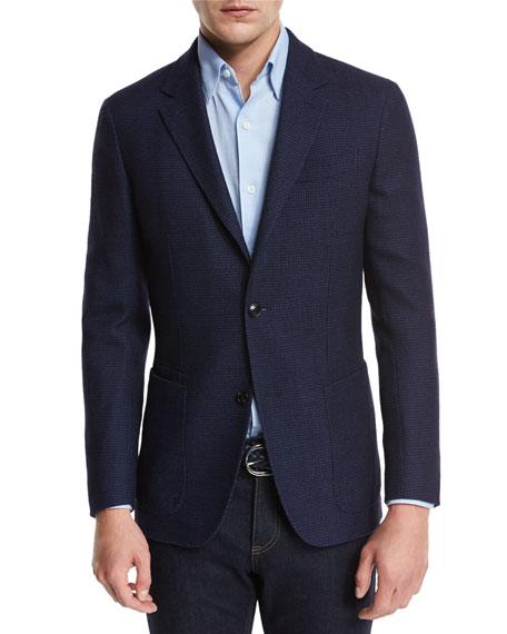 Ermenegildo Zegna Sport Coat, Sport Shirt, Jeans
