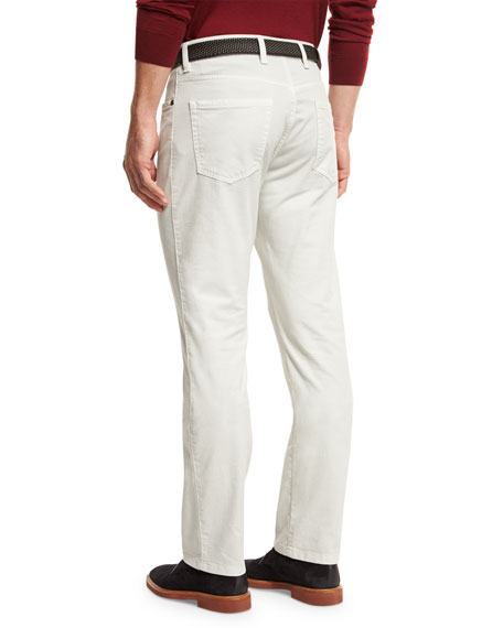 ZW Five-Pocket Pants, Stone
