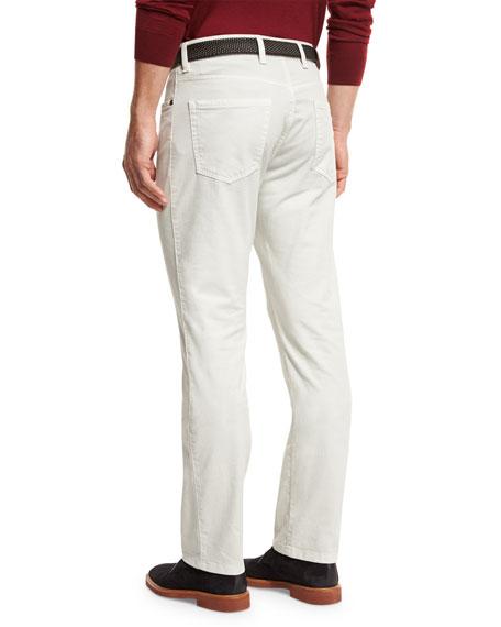 ZW Five-Pocket Pants, Stone