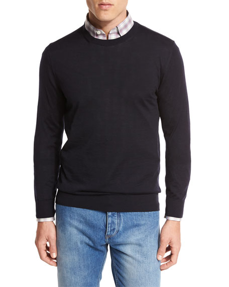 Ermenegildo Zegna Sweater, jeans, & Shirt