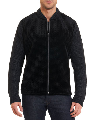 Limited Edition Alden Full-Zip Sweater-Jacket