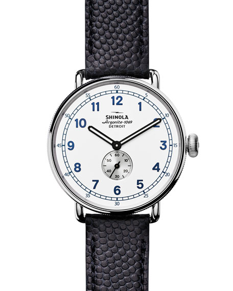 Shinola 43mm Canfield Cannonball Limited Edition Watch