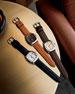 Men's 41mm Guardian Men's Watch, Black/White
