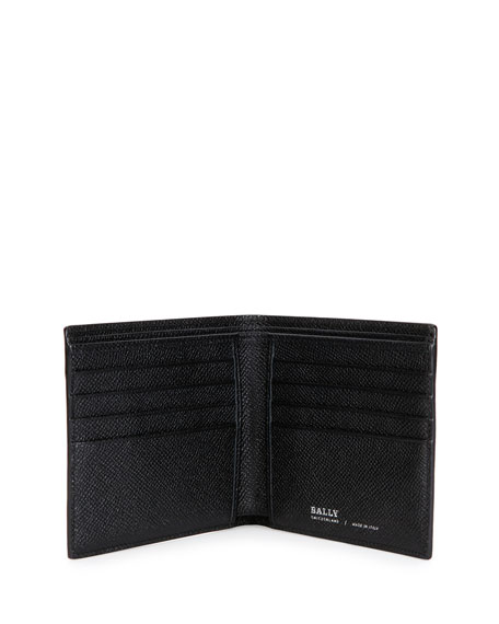 BALLY WALLET & REVERSIBLE BELT GIFT SET, CHOCOLATE, BROWN