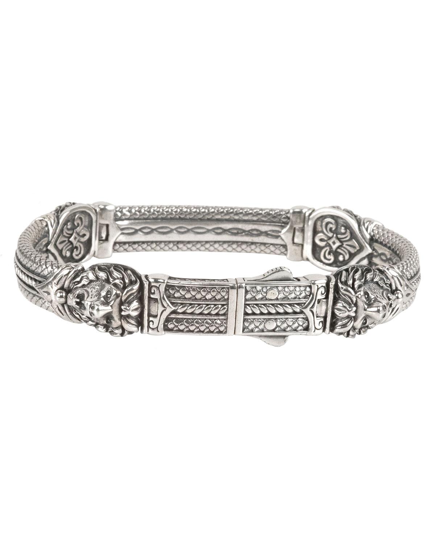 Konstantino Mens Aeolus Athena Sterling Silver Bracelet XCWyP