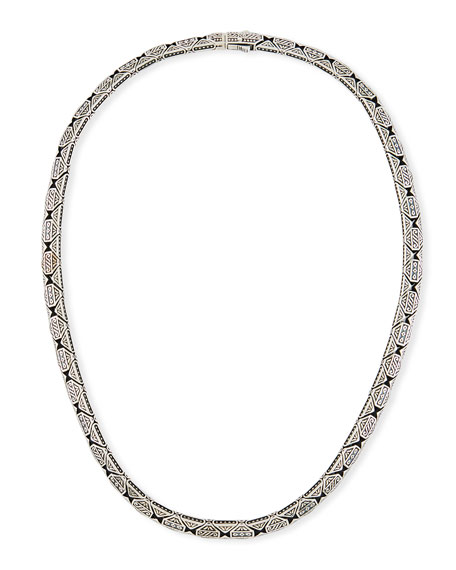 Konstantino Men's Aeolus Sterling Silver Necklace