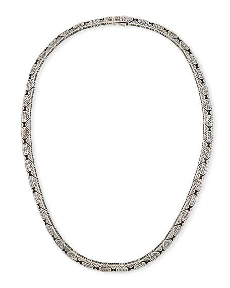 Men's Aeolus Sterling Silver Necklace
