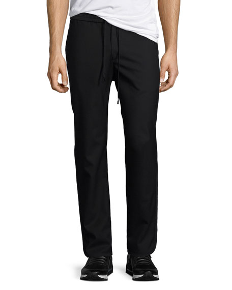 Ilyn Twill Jogger Pants, Black
